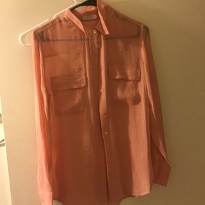 Equipment Button up blouse